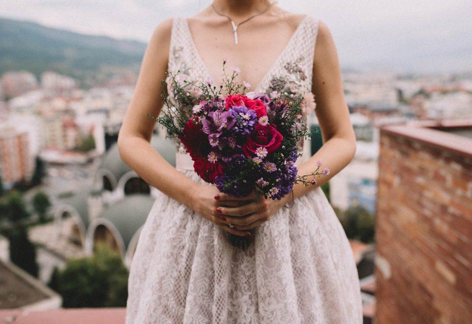 Wybór kwiatów na ślub